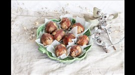 Stuffing Balls wrapped in Prosciutto per person
